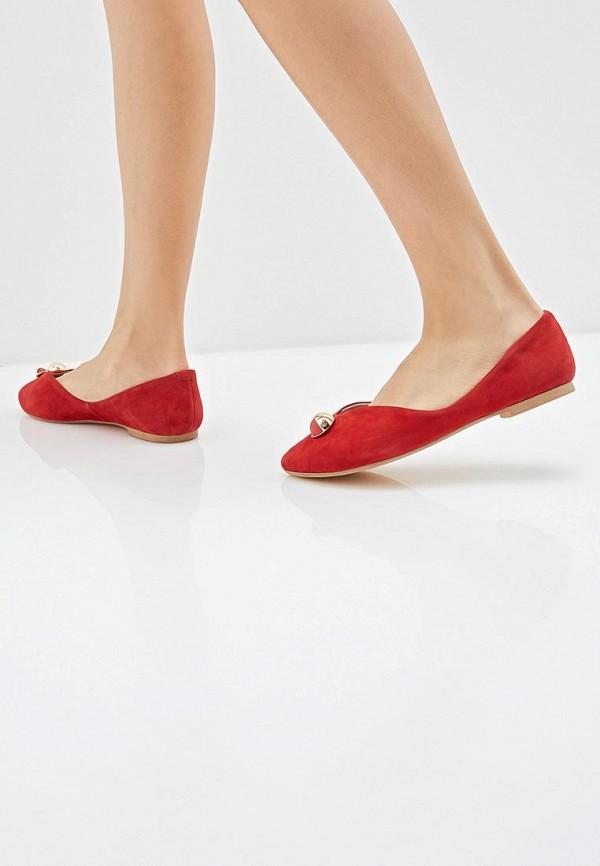 Фото 6 - женские туфли Covani красного цвета