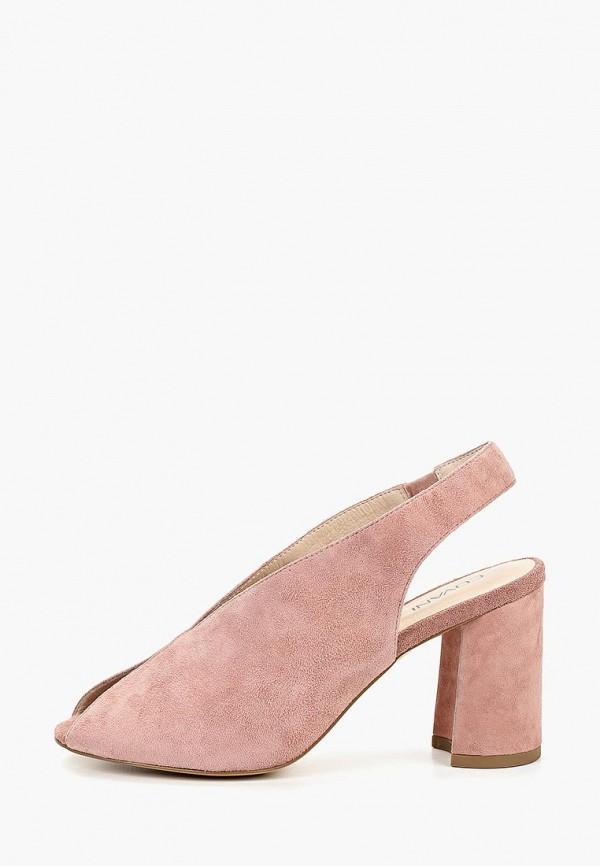 женские босоножки covani, розовые