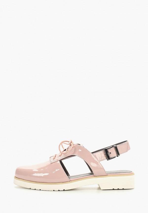 женские ботинки covani, розовые