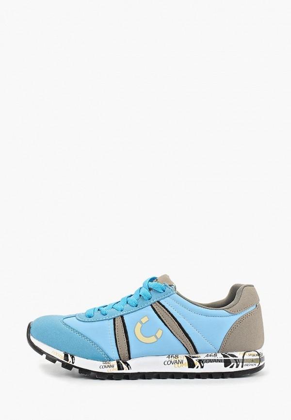 женские кроссовки covani, голубые