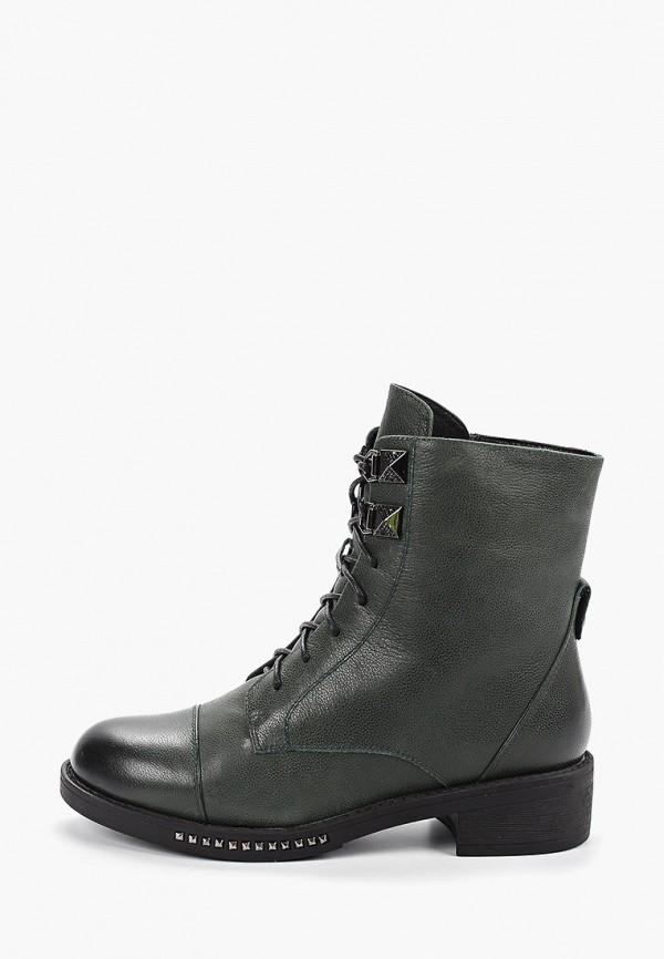 женские ботинки covani, зеленые