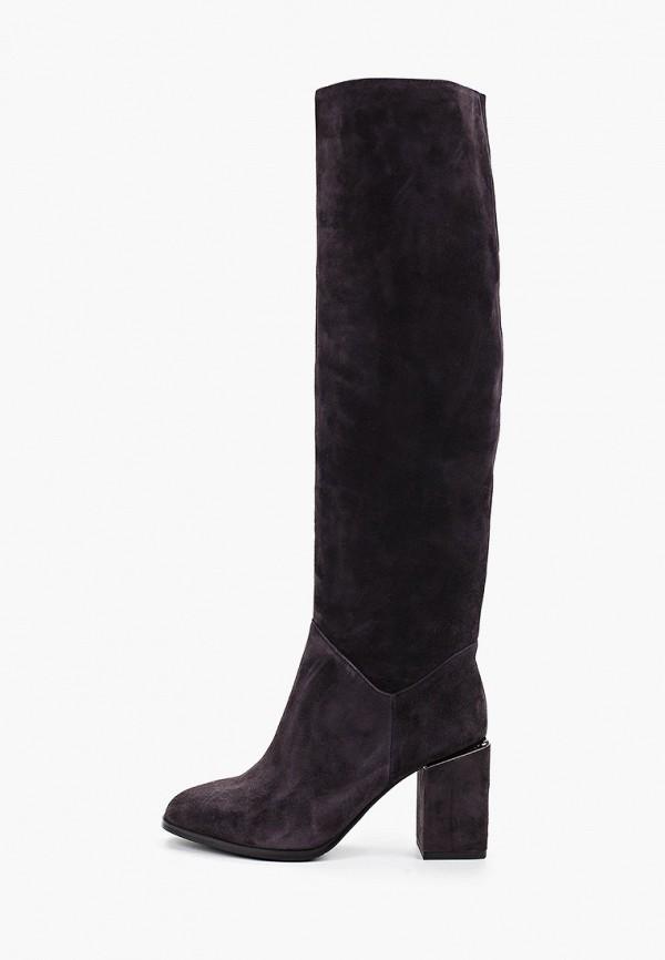 Фото - женские ботфорты Covani серого цвета