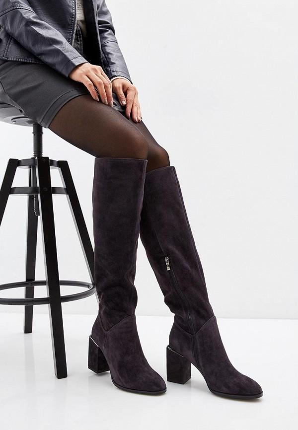 Фото 7 - женские ботфорты Covani серого цвета