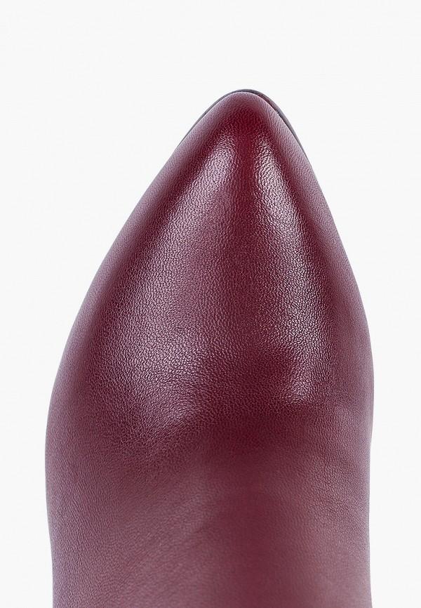 Фото 4 - женские сапоги Covani бордового цвета