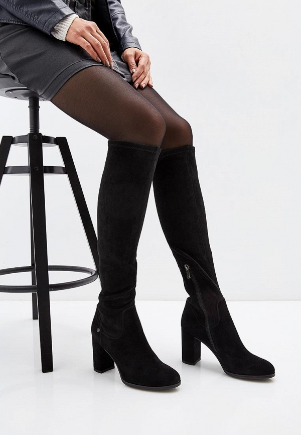 Фото 7 - женские сапоги Covani черного цвета