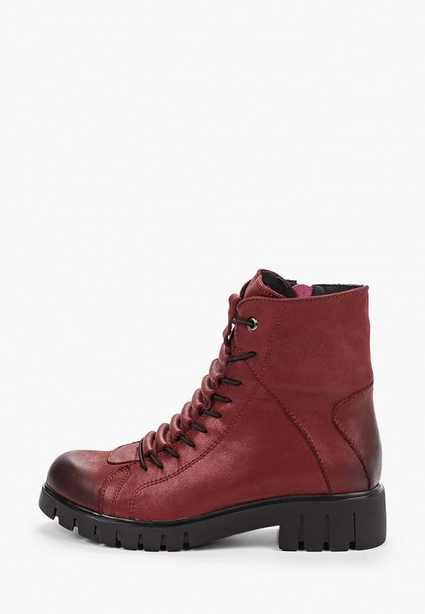 женские высокие ботинки covani, красные