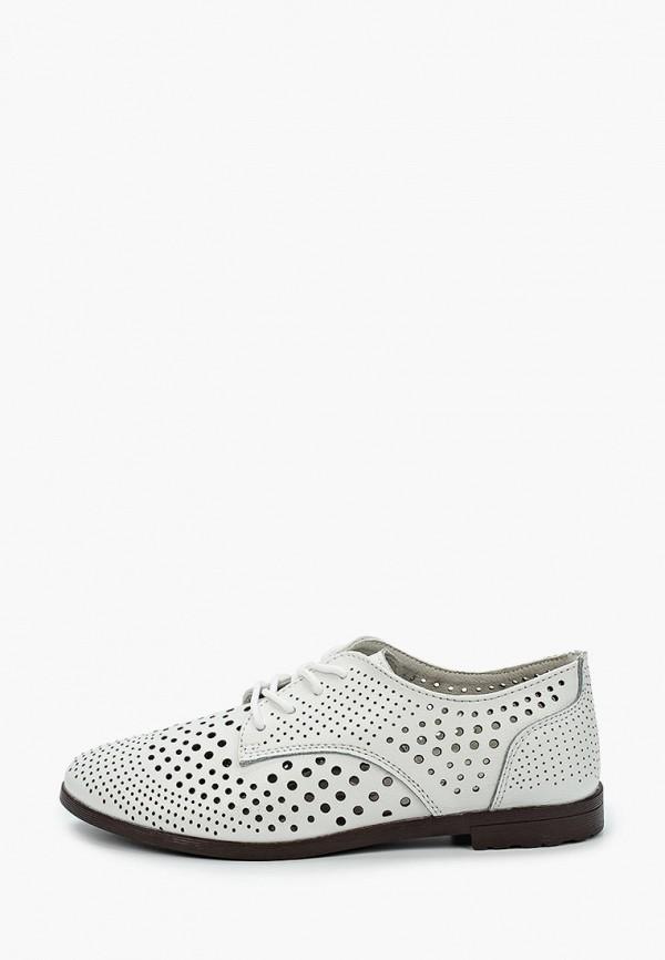женские низкие ботинки covani, белые