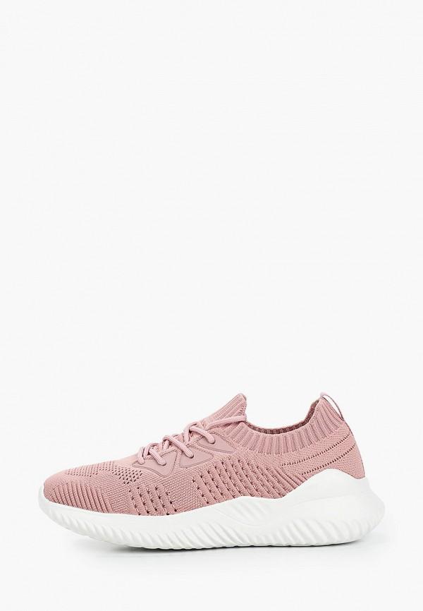 женские низкие кроссовки covani, розовые