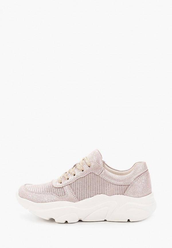 женские кроссовки covani, розовые