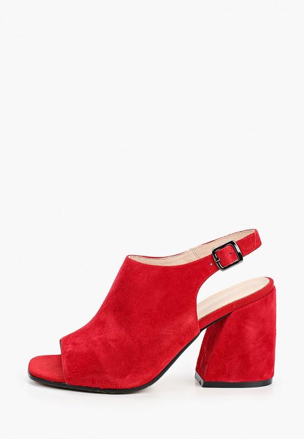 женские босоножки covani, красные
