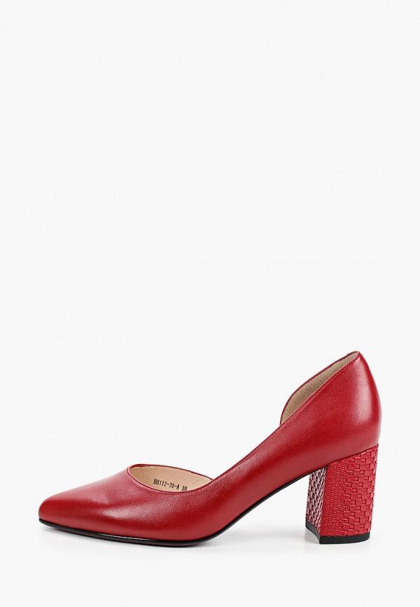 женские туфли covani, красные