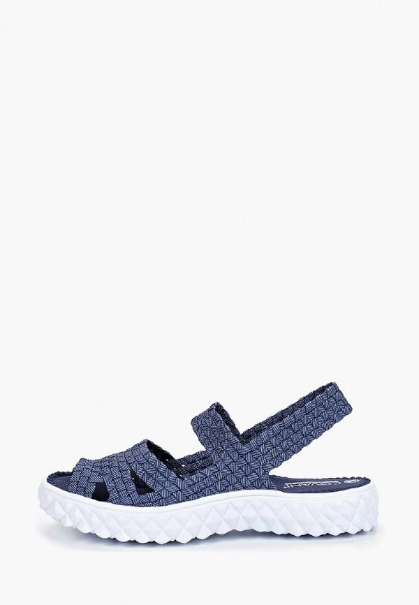 женские сандалии covani, синие