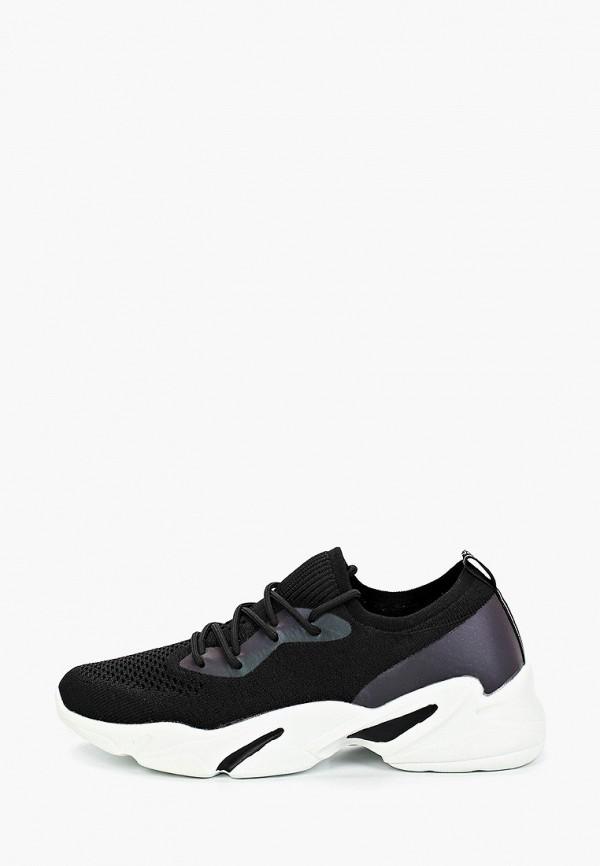 женские низкие кроссовки covani, черные