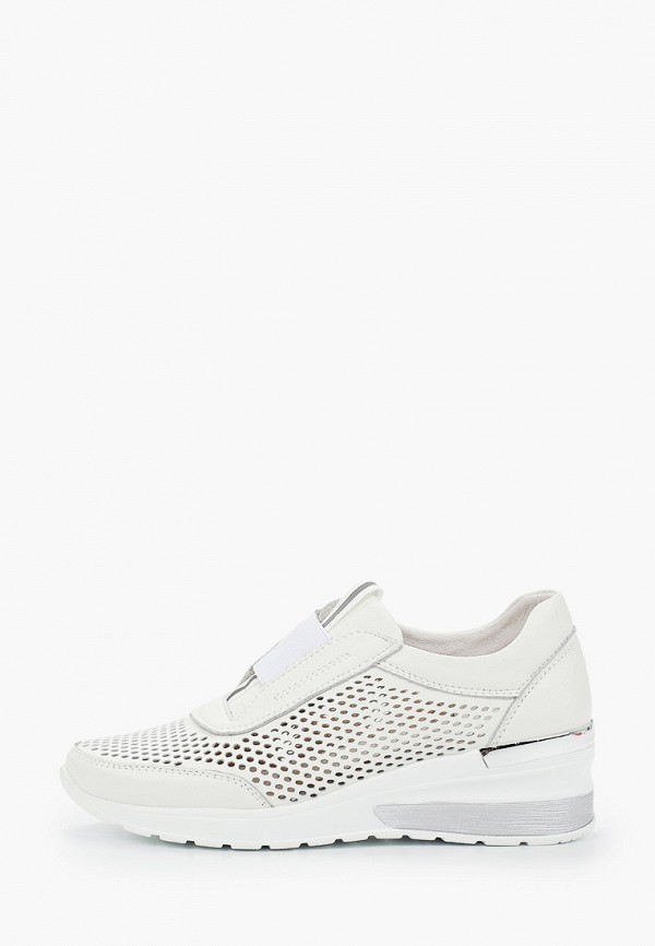 женские кроссовки covani, белые