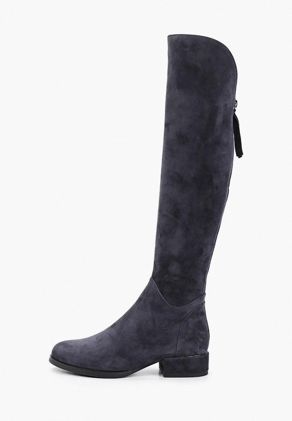 женские сапоги covani, серые