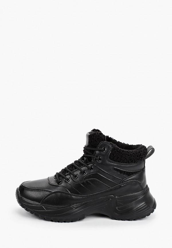 женские кроссовки covani, черные
