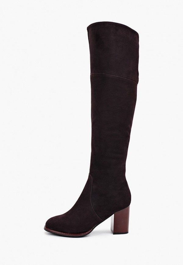 женские сапоги covani, коричневые