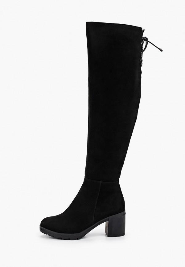 женские ботфорты covani, черные