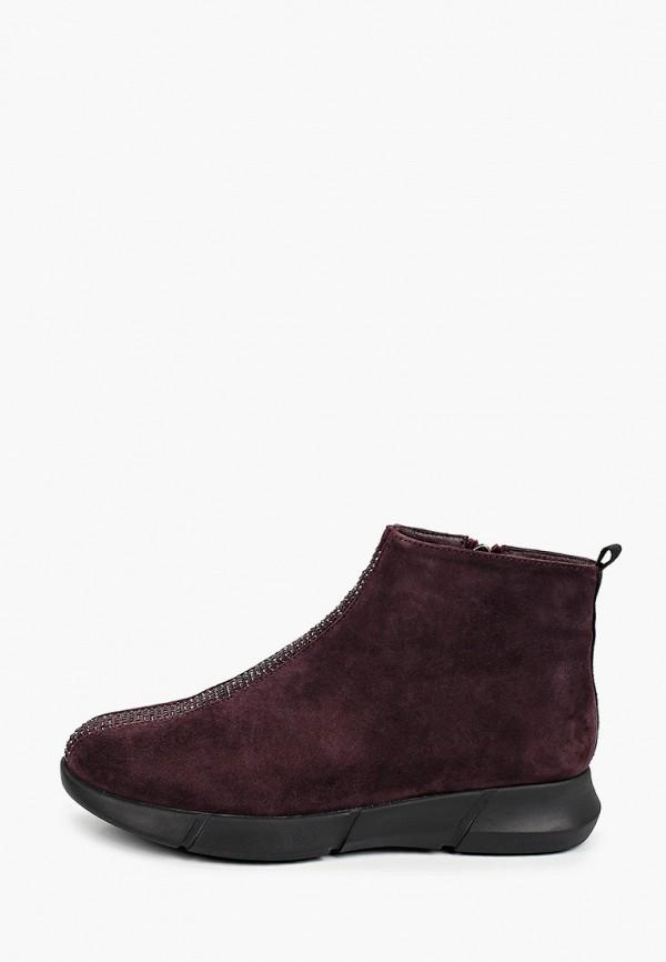 женские высокие ботинки covani, бордовые