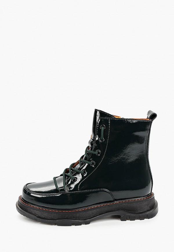 женские высокие ботинки covani, зеленые