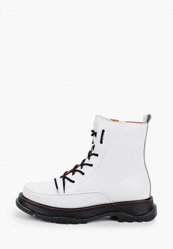 женские ботинки covani, белые