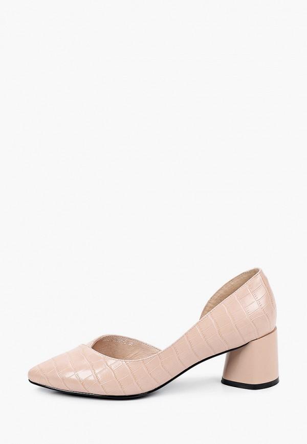 женские туфли covani, розовые