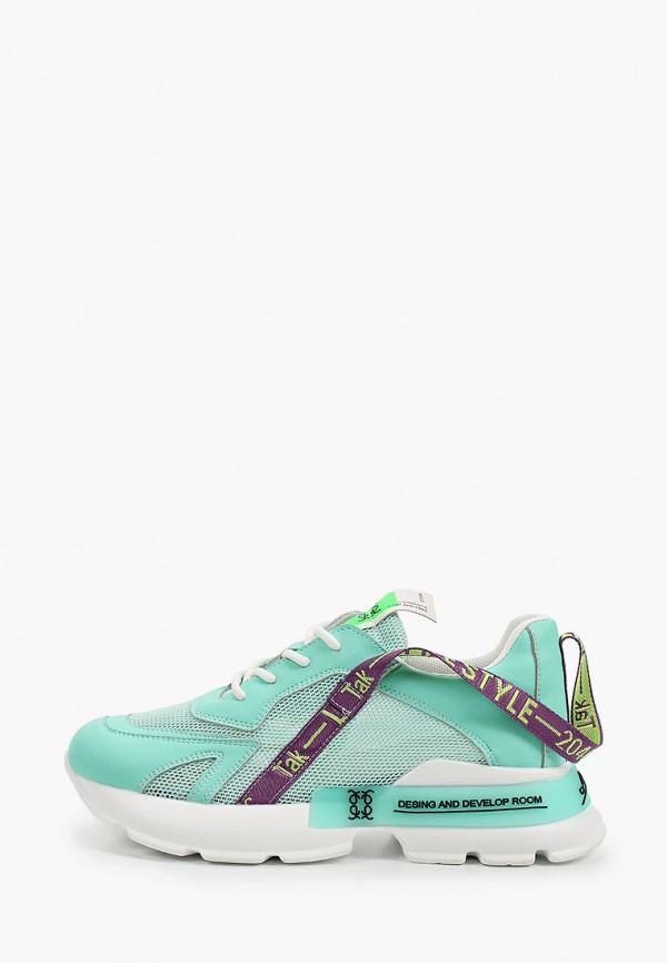 женские кроссовки covani, бирюзовые