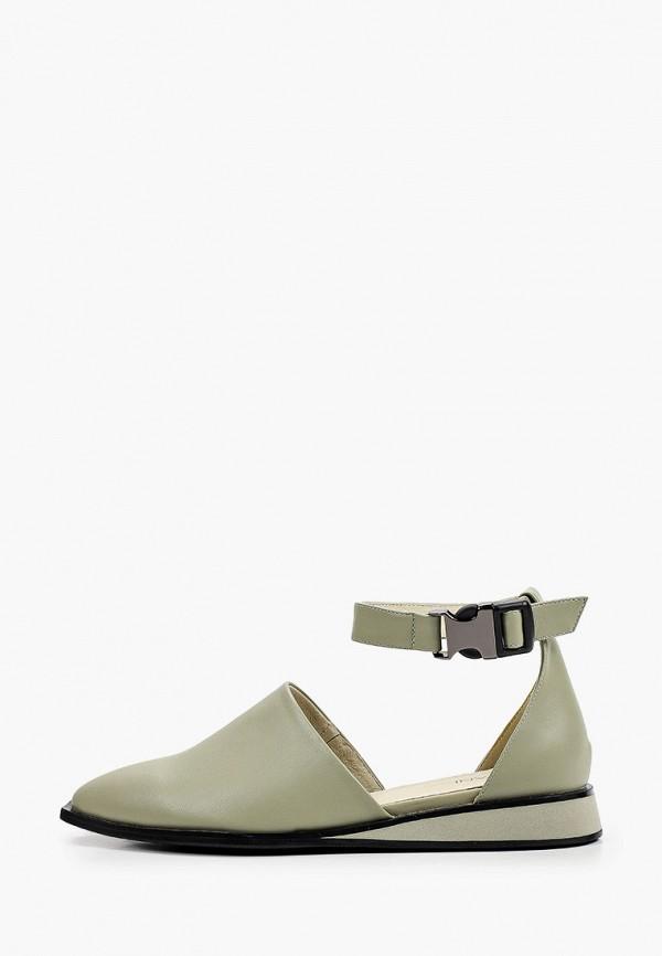 женские туфли covani, зеленые