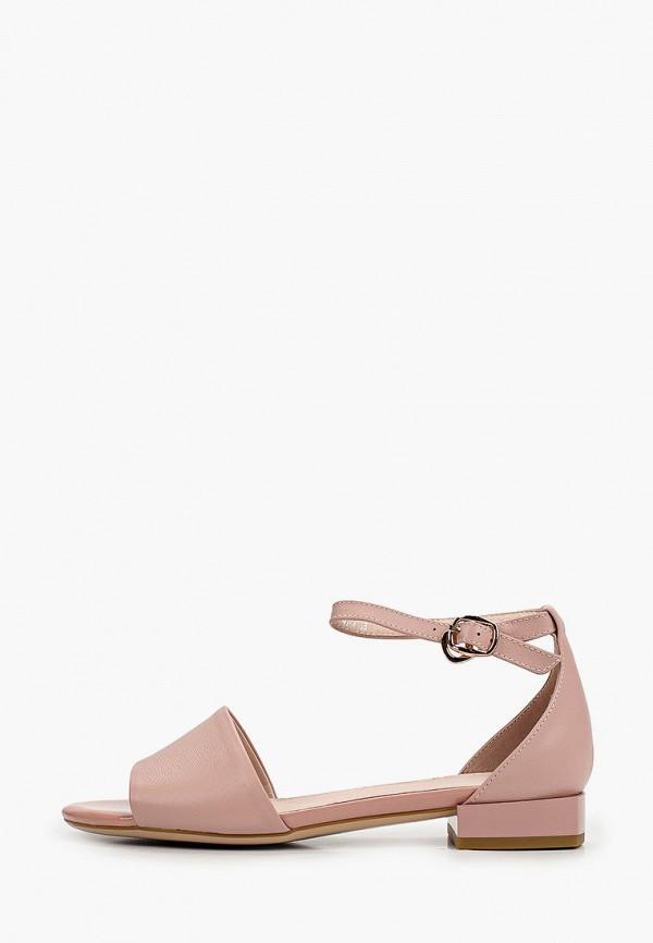 женские сандалии covani, розовые