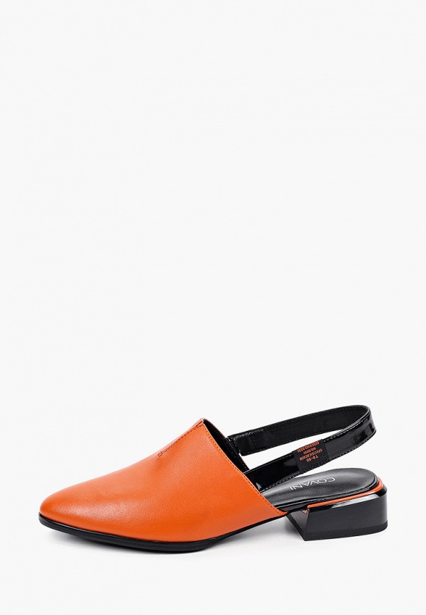 женские туфли covani, оранжевые