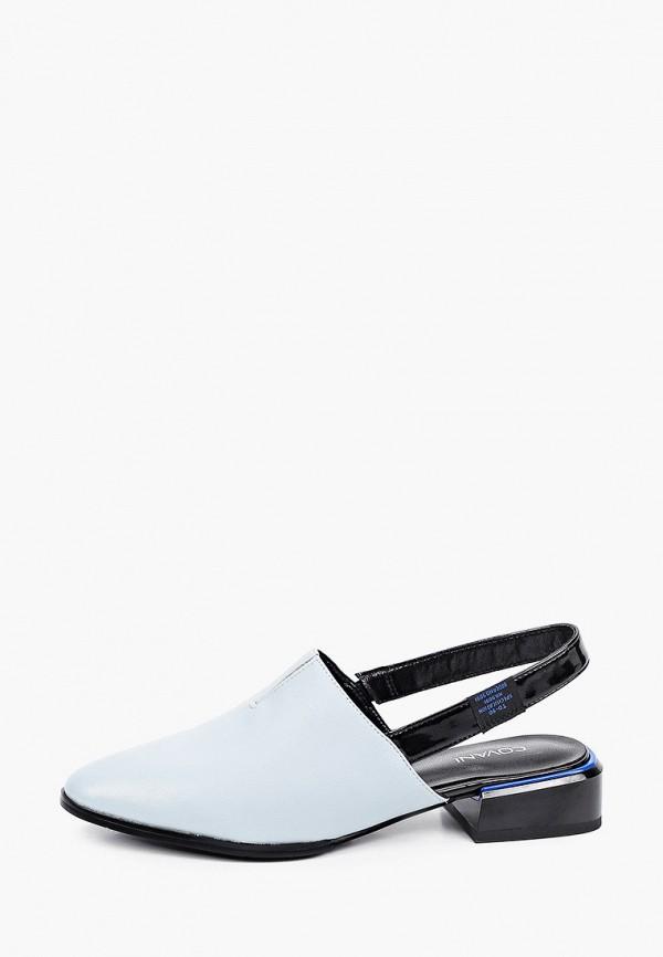 женские туфли covani, голубые
