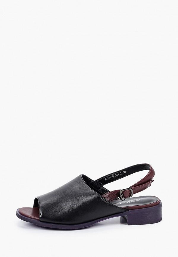 женские сандалии covani, черные