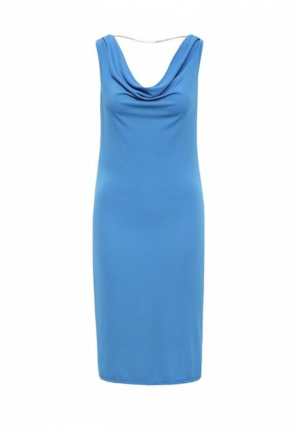 женское повседневные платье concept club, голубое