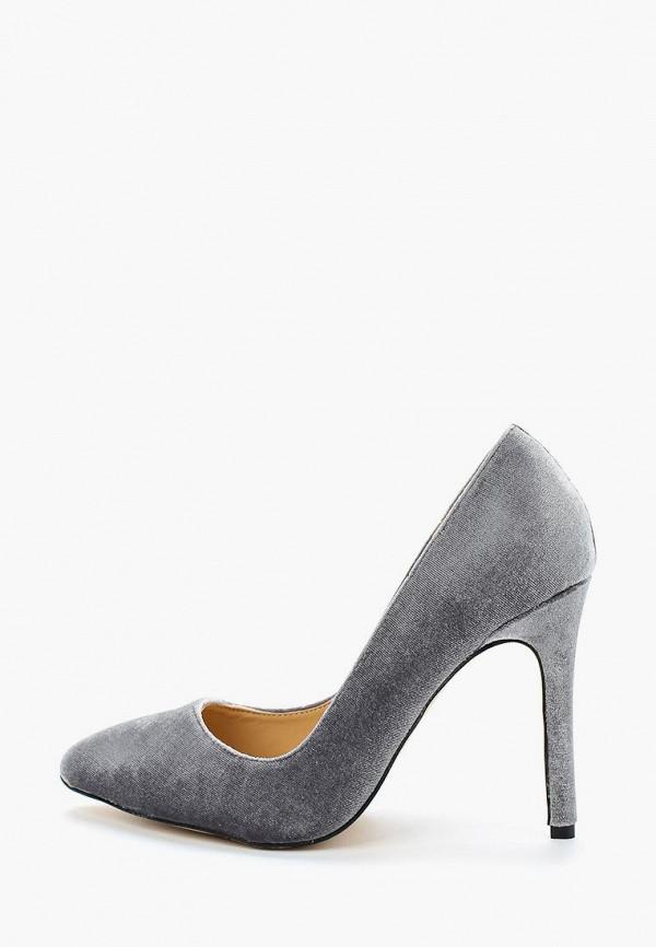 женские туфли coco perla, серые