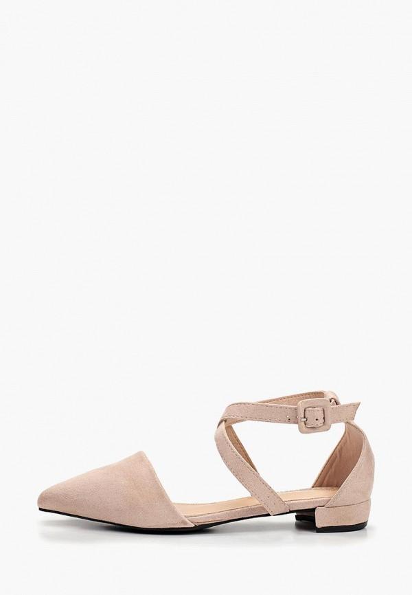женские туфли coco perla, бежевые