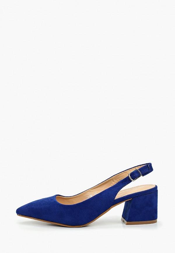 женские туфли coco perla, синие
