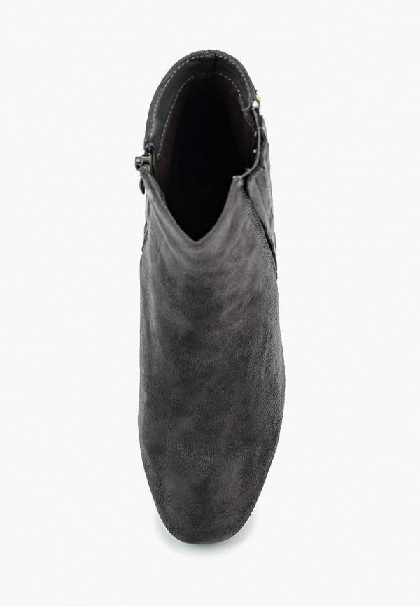 Фото 4 - женские ботильоны Coco Perla серого цвета