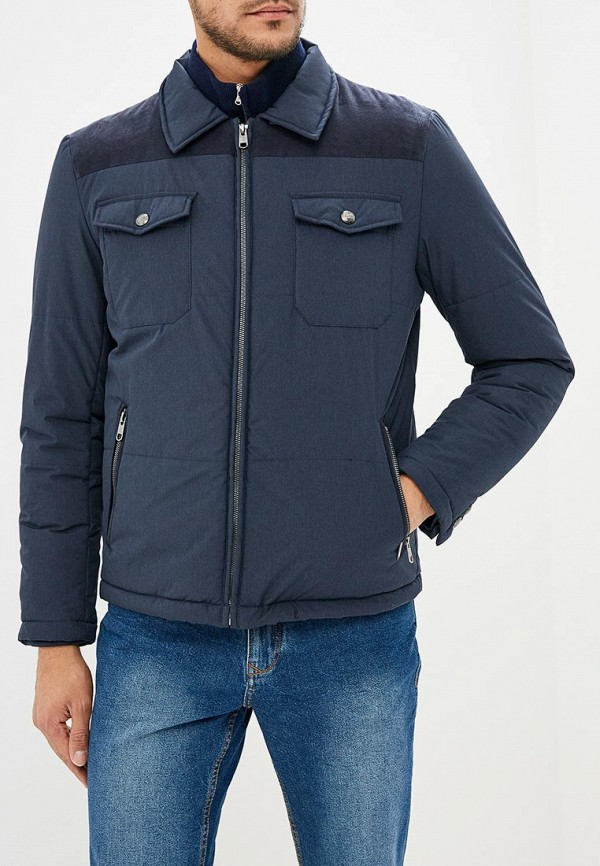 Купить Куртка утепленная Cortefiel, co046emclwu7, синий, Осень-зима 2018/2019