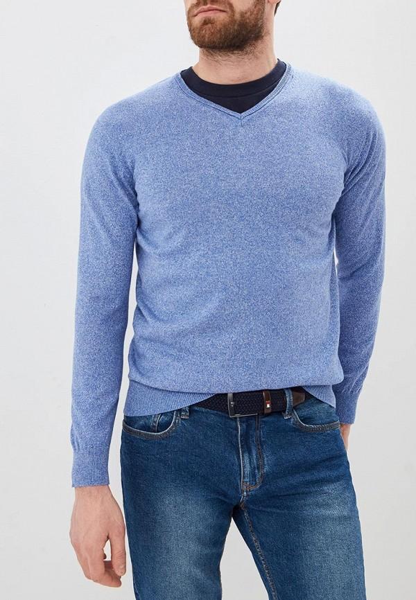 мужской пуловер cortefiel, синий