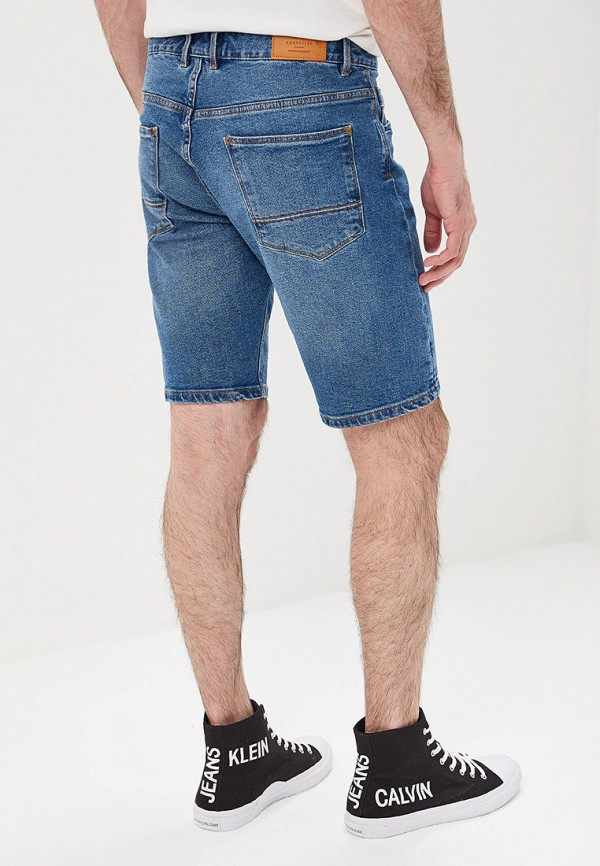 Фото 3 - Шорты джинсовые Cortefiel синего цвета