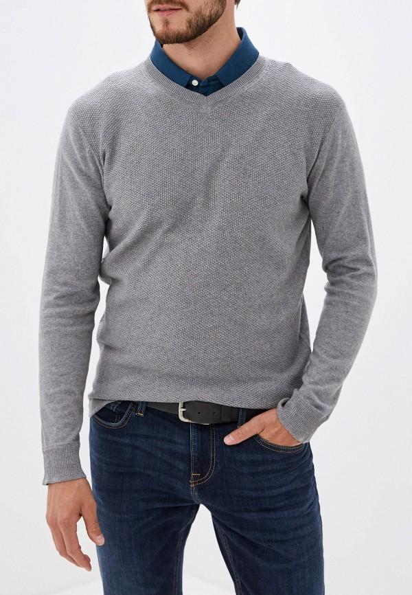 мужской пуловер cortefiel, серый