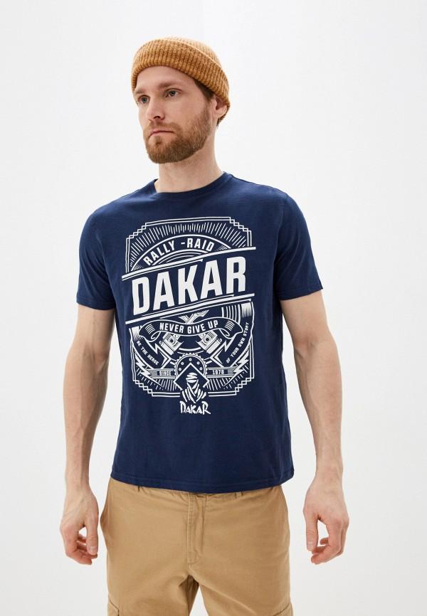 мужская футболка с коротким рукавом cortefiel, синяя