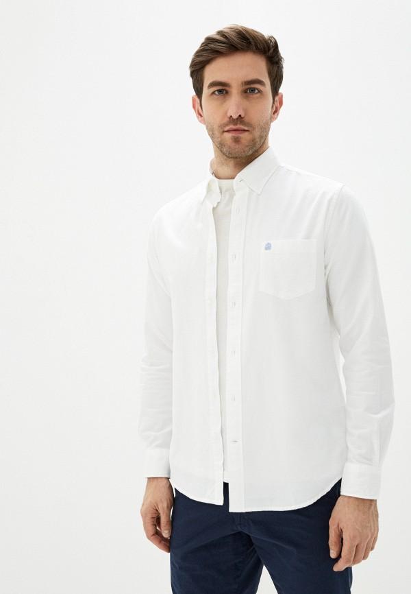 мужская рубашка с длинным рукавом cortefiel, белая