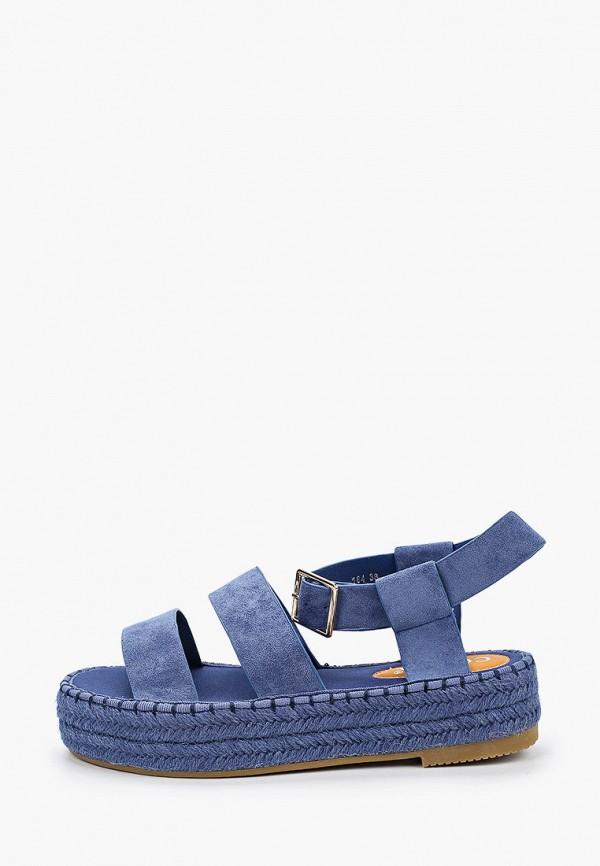 женские сандалии coura, синие