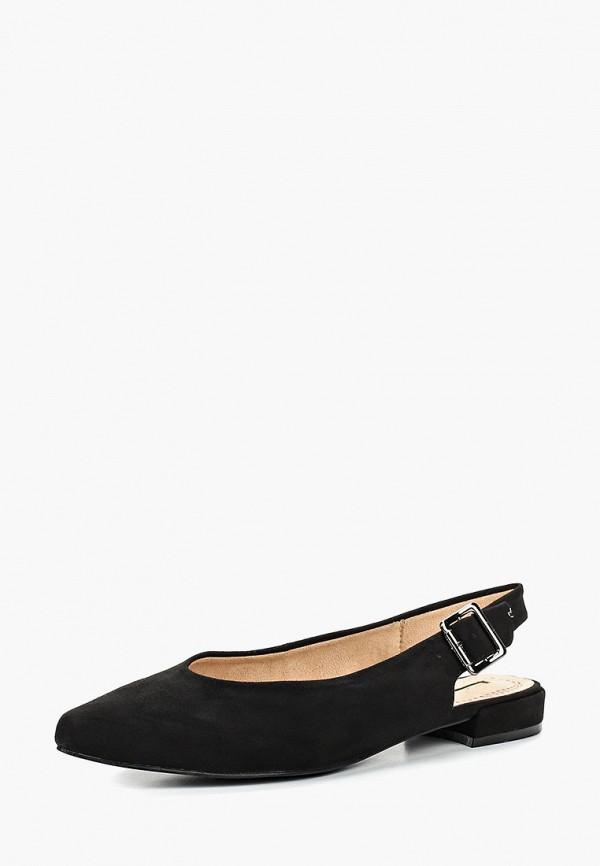 Фото 2 - женские туфли Corina черного цвета