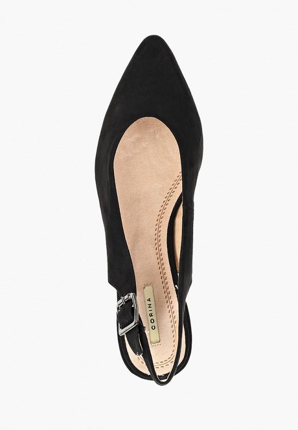 Фото 4 - женские туфли Corina черного цвета