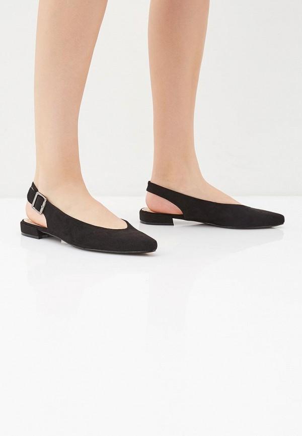 Фото 6 - женские туфли Corina черного цвета