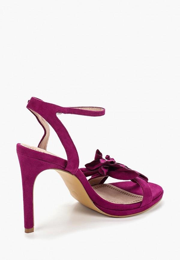 Фото 3 - женские босоножки Corina фиолетового цвета