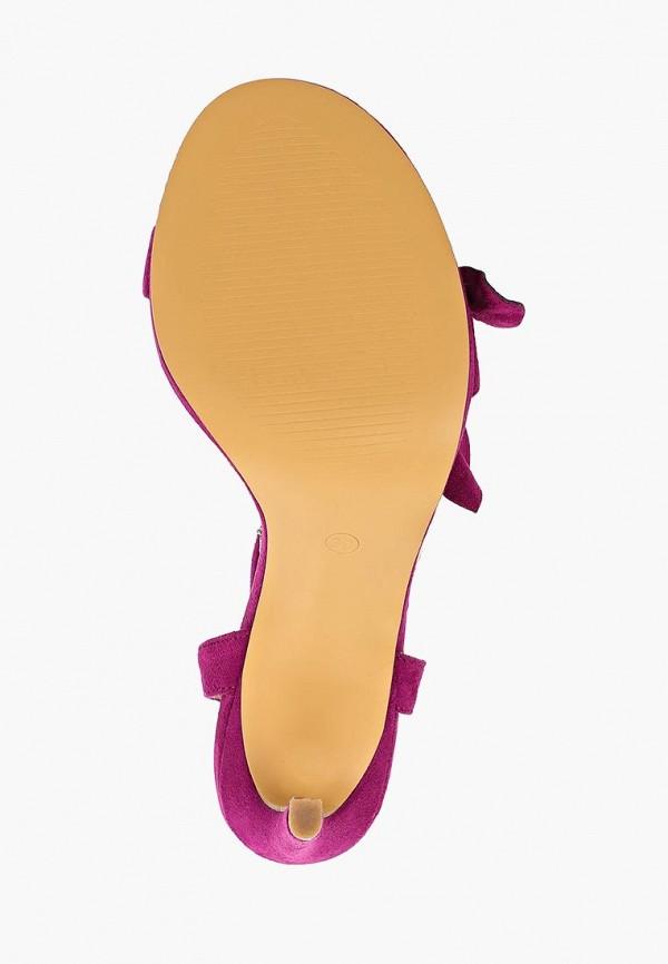 Фото 5 - женские босоножки Corina фиолетового цвета