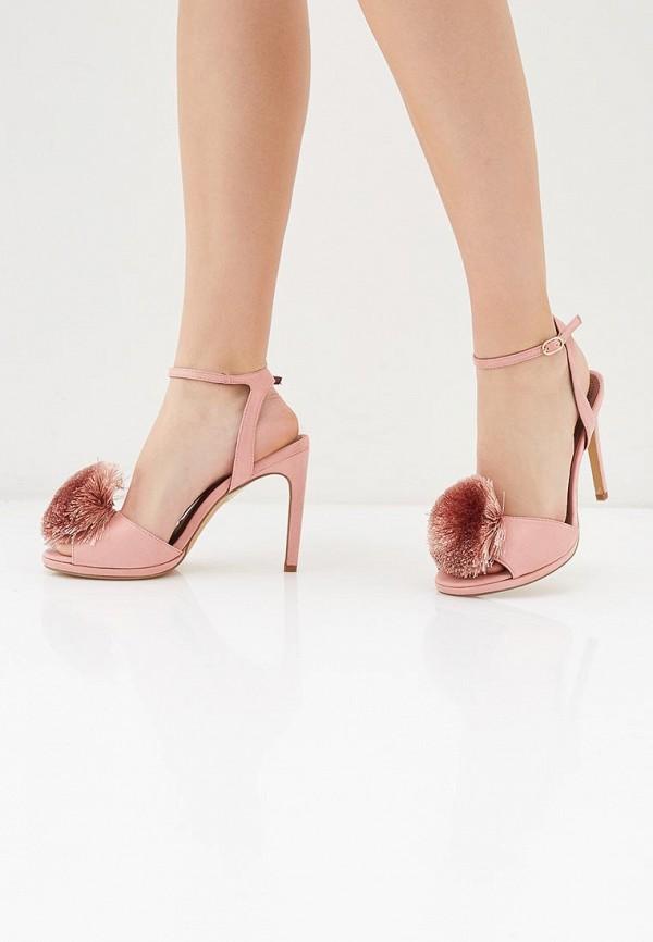Фото 6 - женские босоножки Corina розового цвета
